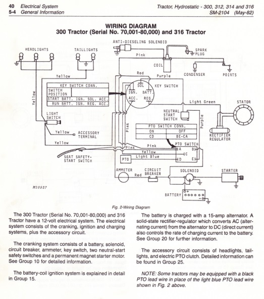 John Deere 316 Wiring Diagram from www.wfmachines.com