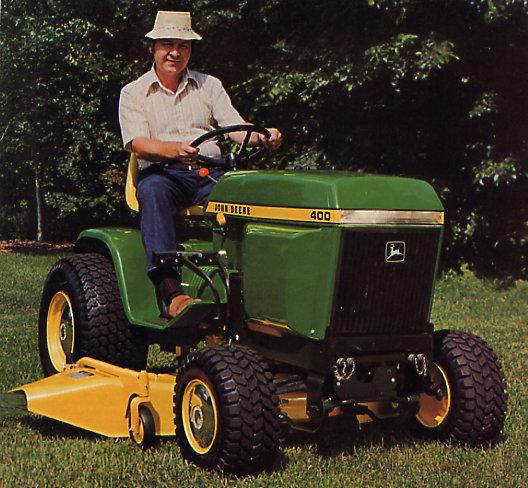 John Deere 400 Series Garden Tractors