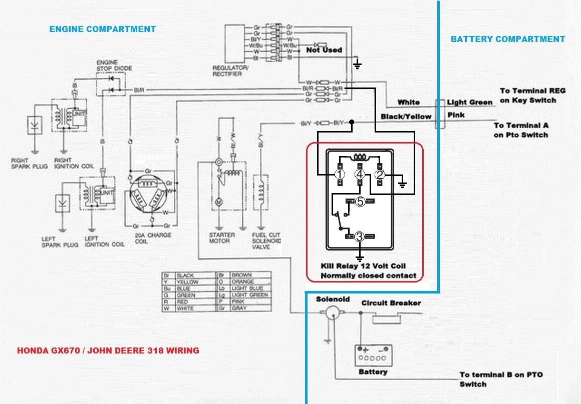 1988 318 with Honda GX670 wiring help | Weekend Freedom MachinesWeekend Freedom Machines