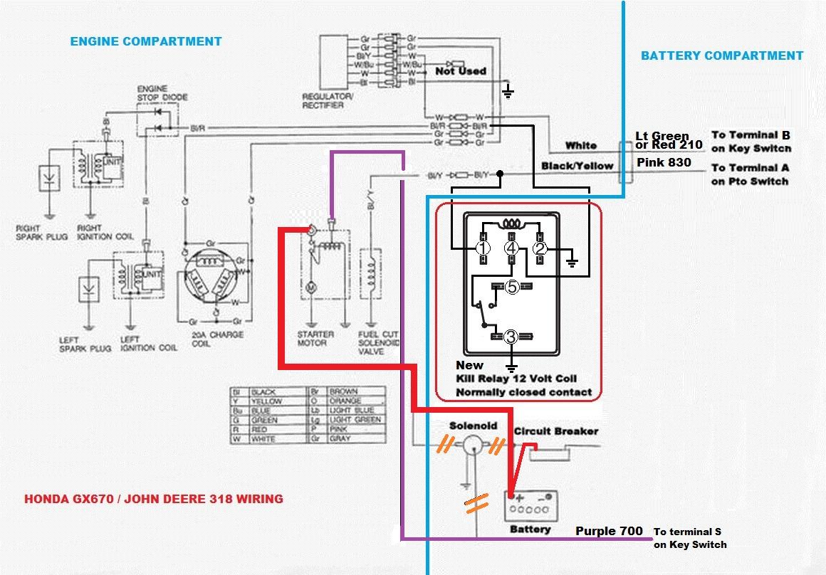1988 318 with Honda GX670 wiring help   Weekend Freedom MachinesWeekend Freedom Machines