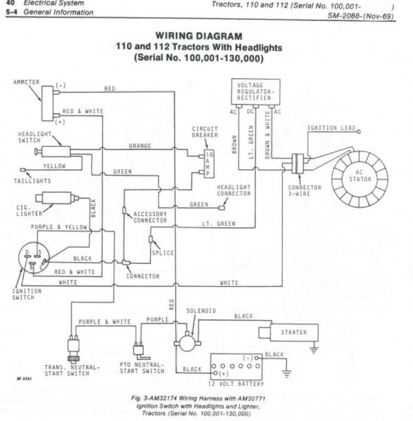 John Deere 112 (no power to starter) | Weekend Freedom MachinesWeekend Freedom Machines