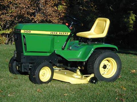 300 Series Garden Tractors Weekend Freedom Machines
